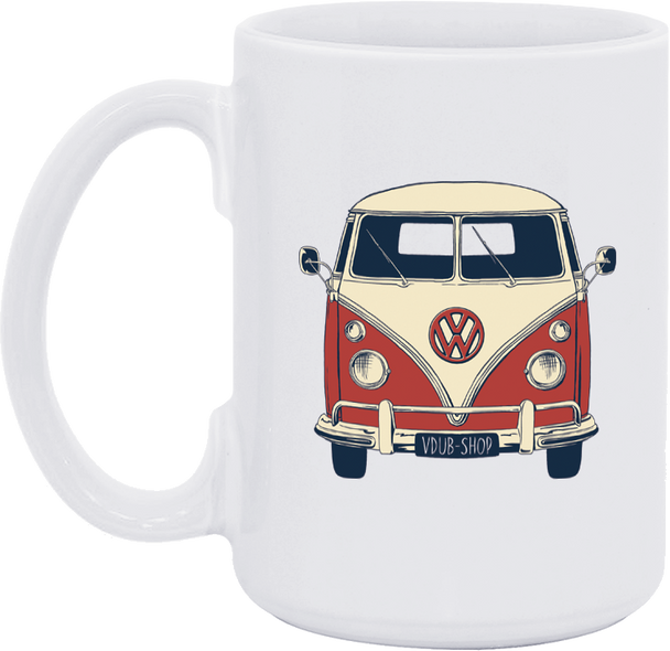VW Boogie Bus Coffee Mug