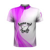 Strike Out Cancer White Pink