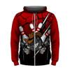 Gunslinger Red Hoodie