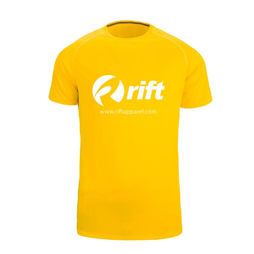 Training Shirt - Yellow Rift