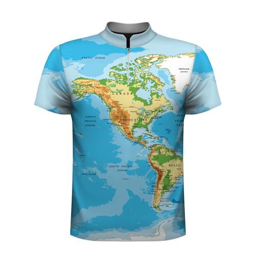 World Map - America