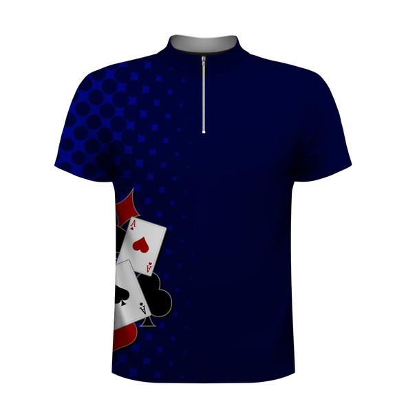 Poker Lover Blue