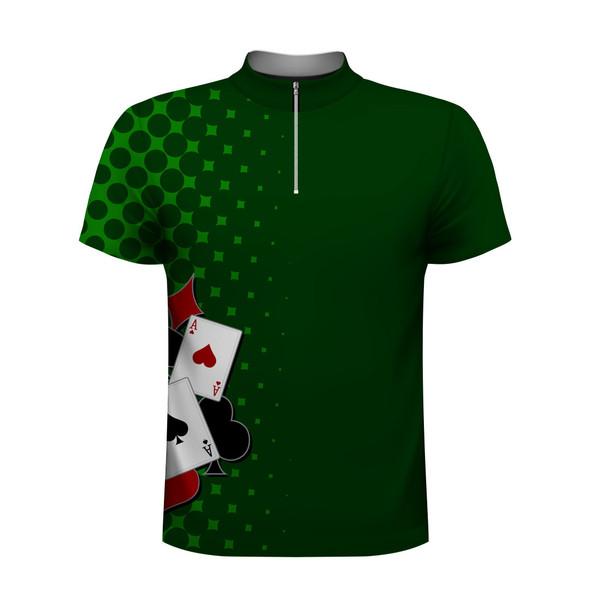 Poker Lover Green