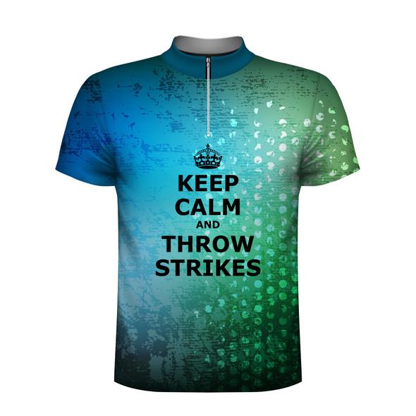 Keep Calm Throw Strikes