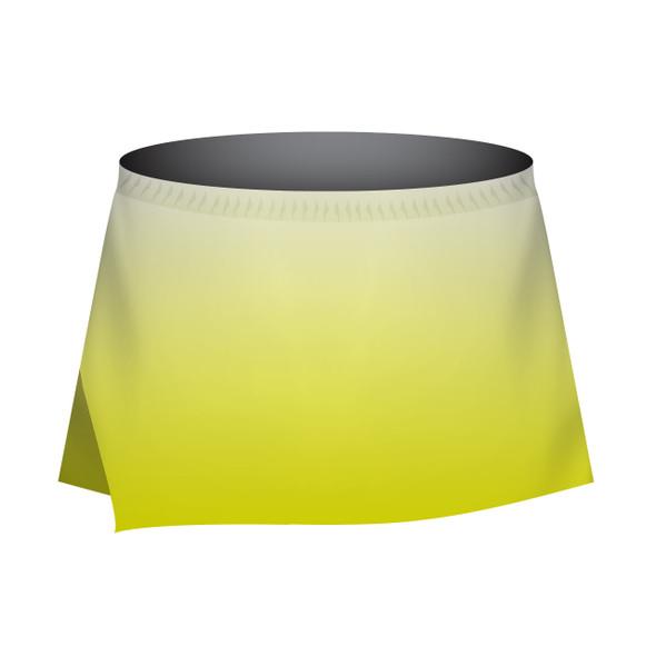 White to Yellow Skort