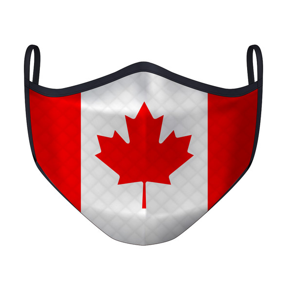 Canada Flag Mask