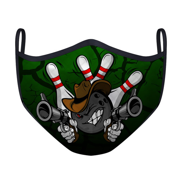 Gunslinger Bowling Green Mask
