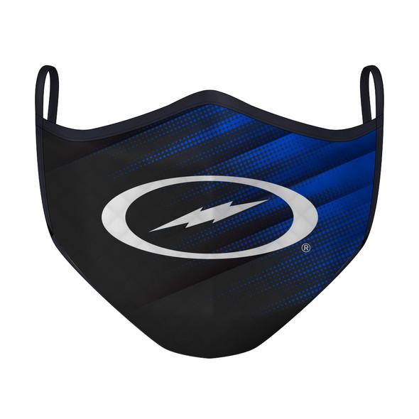 Lightning Storm Gradient Blue Mask (Small)