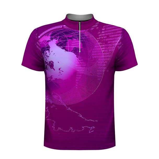Global Tech Purple