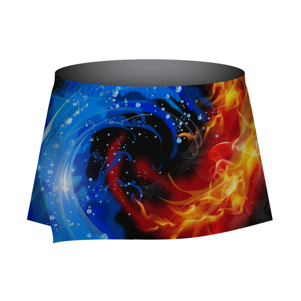 Fire and Water Skort