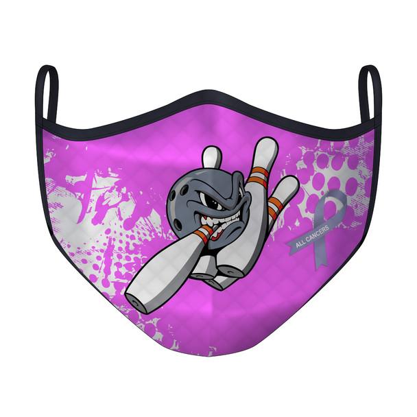 Bowling Vs Cancer Mask (XL)