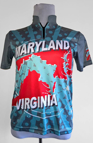 Custom Dye Sublimated Bowling Jersey
