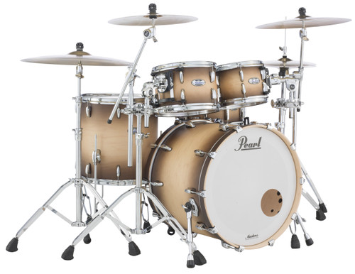 MCT924XEDP/C351 Pearl Masters Maple Complete 4-pc Shell Pack SATIN NATURAL BURST