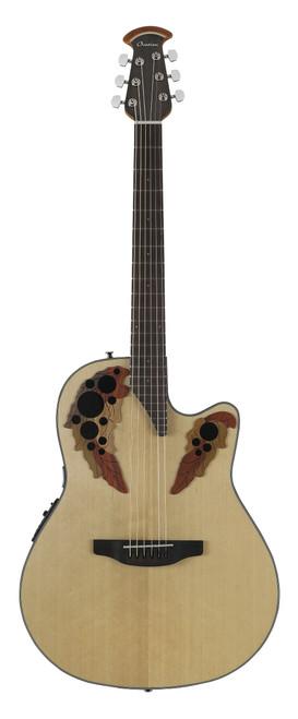 Ovation Celebrity Elite Mid-Depth Cutaway, Natural Guitar  CE44-4