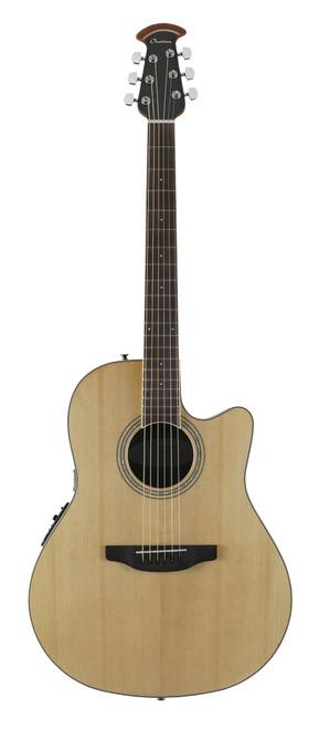 Ovation Celebrity Standard Mid-Depth Cutaway, Natural Guitar  CS24-4