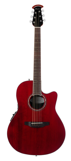 Ovation Celebrity Standard - Ruby Red, Super Shallow Guitar  CS28-RR