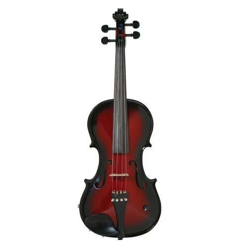 Barcus Berry Vibrato-AE Series Acoustic-Electric Violin Red Berry BAR-AEVR