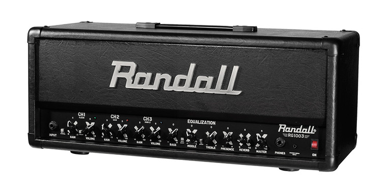 Randall RG1003H 3-Channel 100-Watt Solid State Guitar Amp Head