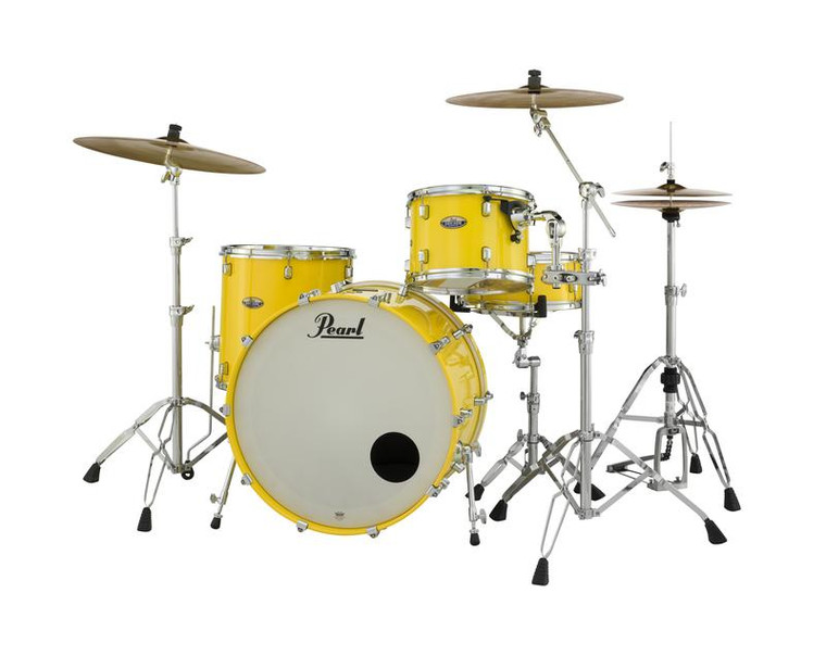 "Pearl Decade Maple 3-pc. Shell Pack Solid Yellow 24"" Drum Set DMP943XP/C228"