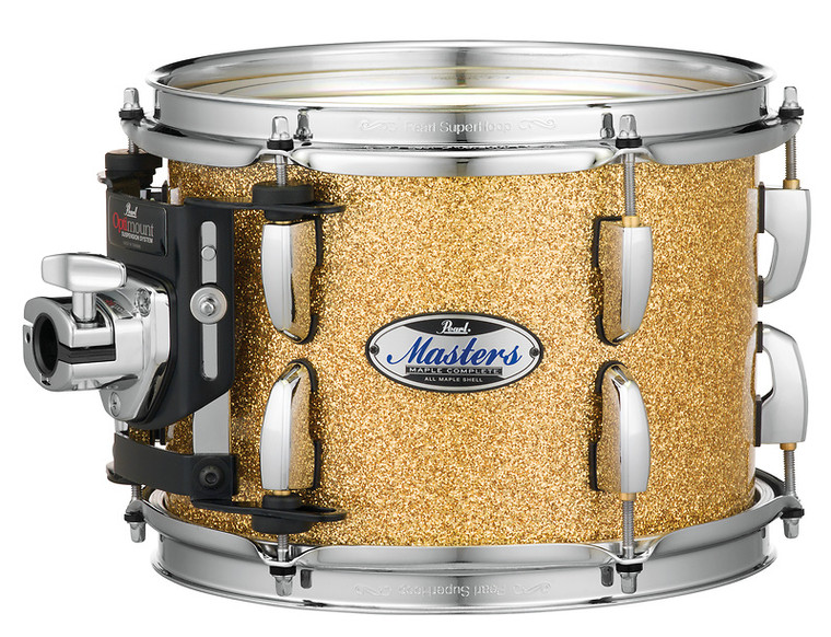 """Pearl Masters Maple Complete 24""""x16"""" bass drum w/o BB3 Bracket BOMBAY GOLD SPARK"""