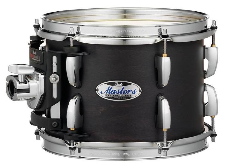 "Pearl Masters Maple Complete 24""x18"" bass drum w/o BB3 Bracket MATTE BLACK MIST"