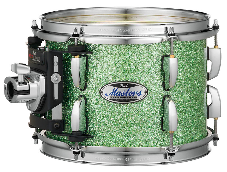 """Pearl Masters Maple Complete 24""""x18"""" bass drum w/o BB3 Bracket ABSINTHE SPARKLE"""