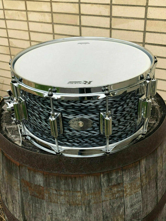 Rogers Dyna-Sonic Snare Drum 6.5x14 Black Onyx - 1 of 1 2020 USA