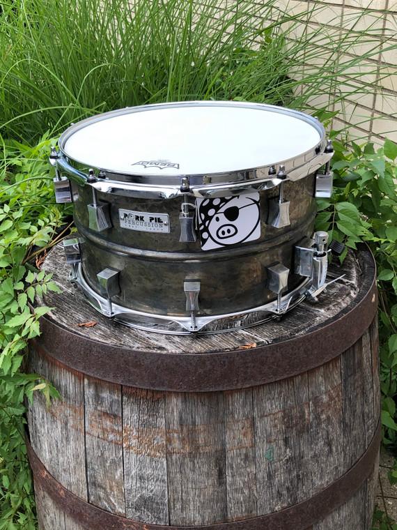 Pork Pie aged brass patina Snare Drum