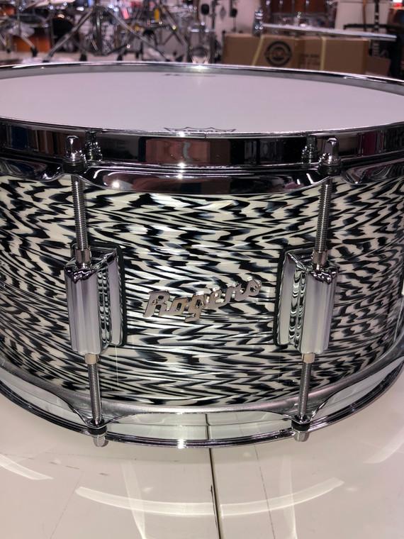 Rogers USA White Onyx Dynasonic Drum