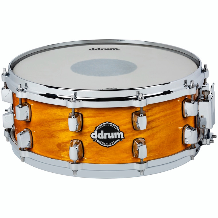 ddrum Dominion Series 5.5x14 Gloss Natural Snare Drum