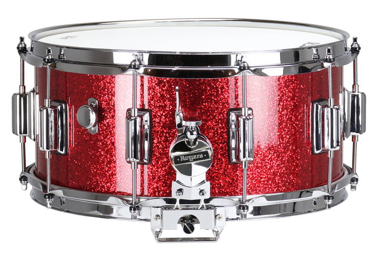 """Rogers USA 2020 DynaSonic Red Sparkle Lacquer Snare Drum 6.5x14"""""""