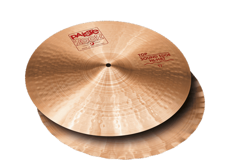 """Medium bright, full, warm, brilliant. Wide range, fairly complex mix. Fast, responsive feel. Full, bright, energetic open sound. Sharp, full chick sound. The original, once patented, wavy bottom hi-hat design. The 17"""" version adds extraordinary boost, low end and crisp projection."""