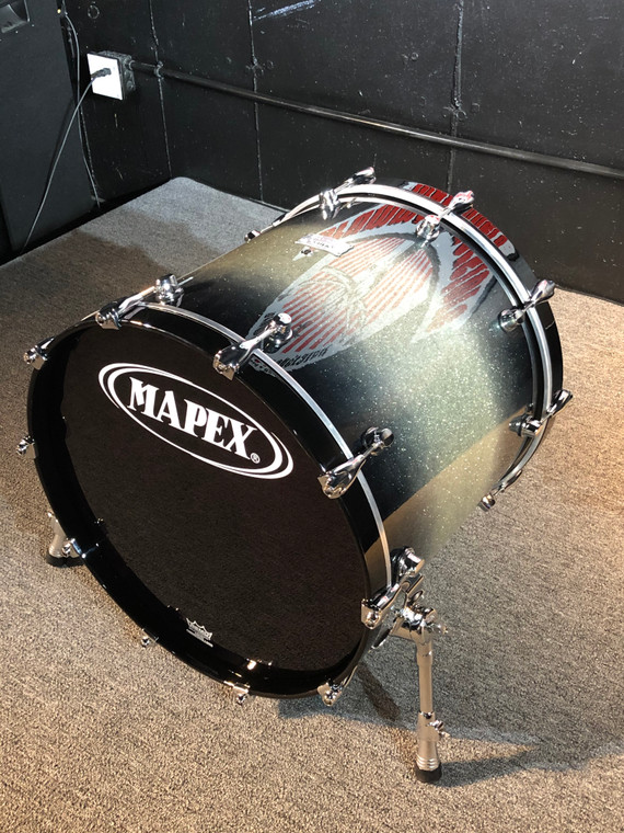 "Mapex Saturn 22x18"" Bass Drum Chrome Hardware Galaxy Burst SWB2218CTJ"