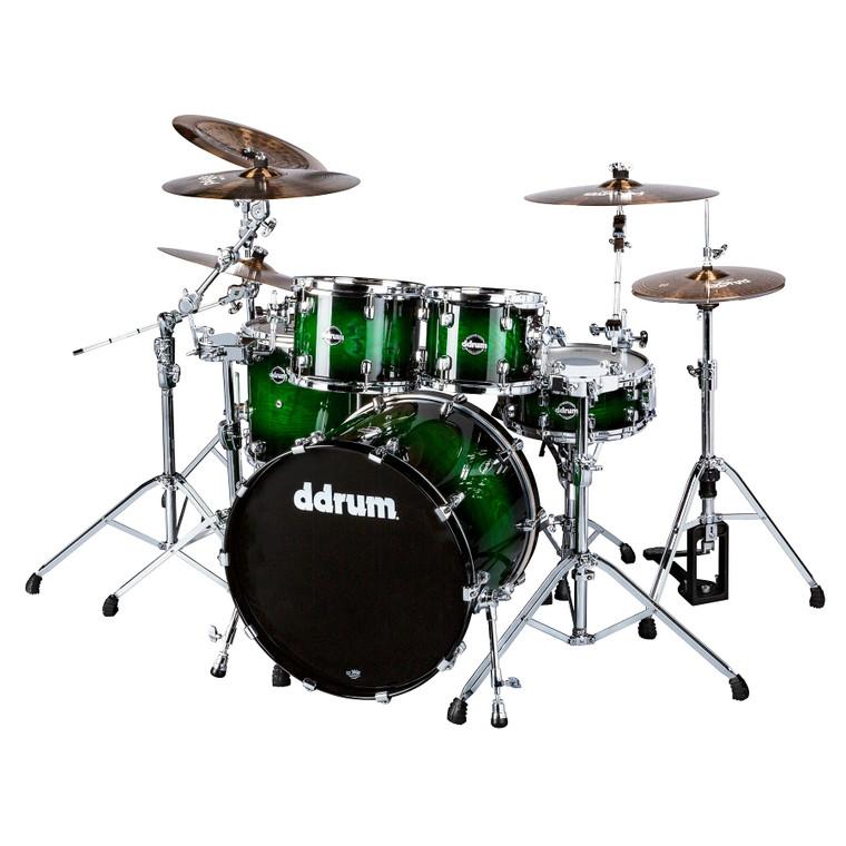 ddrum Dominion Birch Set 5pc Greenburst Shell Pack DM ASH 522 GB