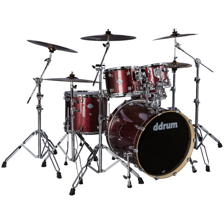 ddrum Dominion Birch Set 5pc Red Sparkle Shell Pack DM B 522 RSP