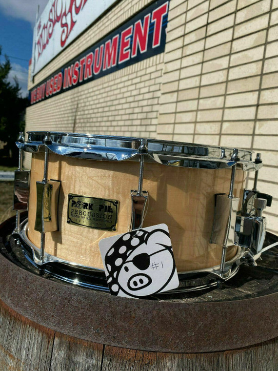 Pork Pie Curly Maple Limited Edition Snare Drum