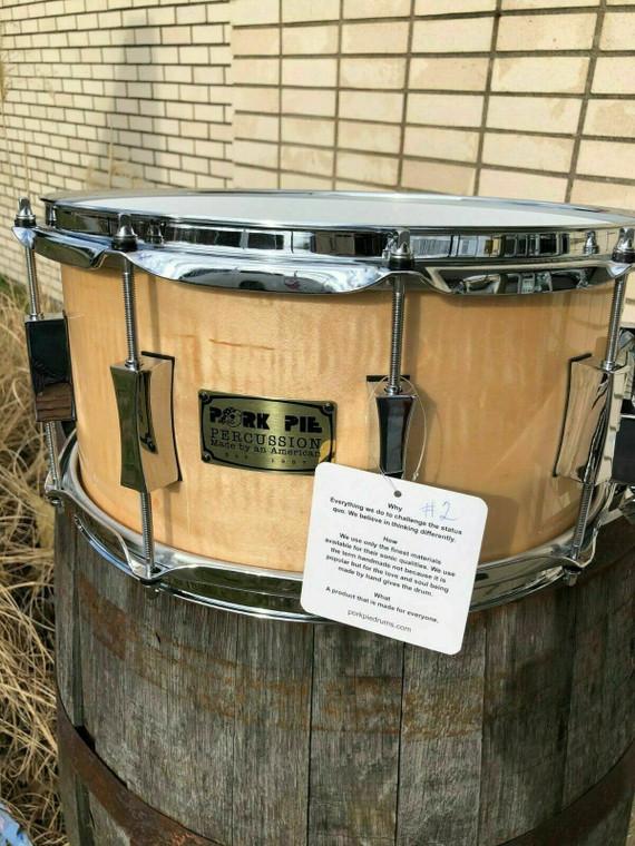 pork pie limited edition snare drum