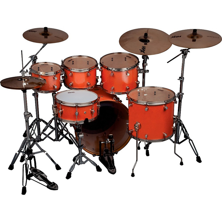 Ddrum Paladin Coral Red Kit