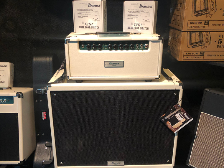 Ibanez Amplifier All Tube Head with Built in TS9 Tube Screamer and Speaker Cabinet