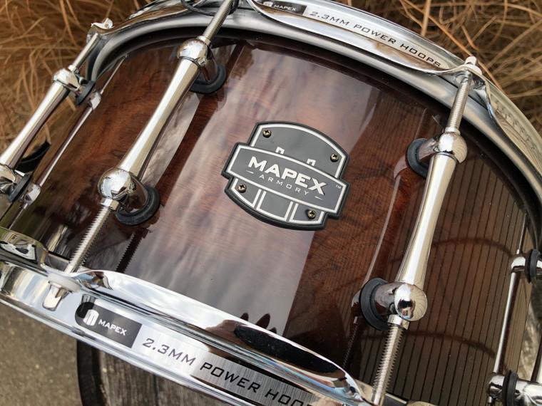 Mapex Armory 14x6.5 Exterminator Snare Drum Ebony Burst ARBW4650RCTK