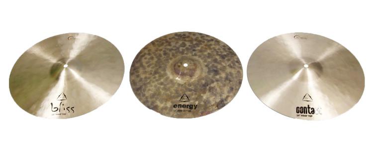 """Dream Cymbals TRIHAT14D 14"""" TriHat Diversity Set"""