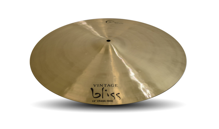 "Dream Cymbals VBCRRI19 Vintage Bliss 19"" Crash/Ride"