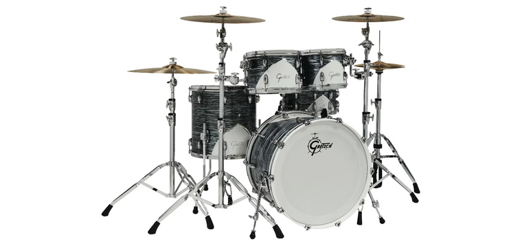 Gretsch Drums Renown 57 5pc Shell Pack w/ Snare Drum Silver Oyster Pearl