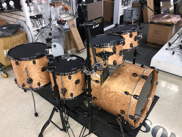 Mapex Saturn V MH Exotic 5pc Natural Maple Burl Drum Set