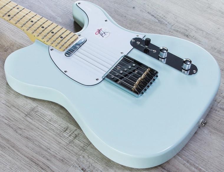 G&L Tribute ASAT Classic Sonic Blue 6 String electric Guitar Body