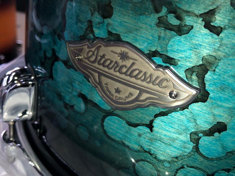 "Tama Starclassic Performer Drum Set 22"" 5pc Shell Pack, Molten Steel Blue Burst"