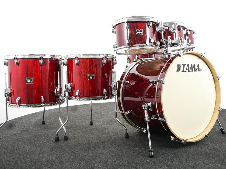 Superstar Classic 7pc Drum Set Garnet Lacebark Pine