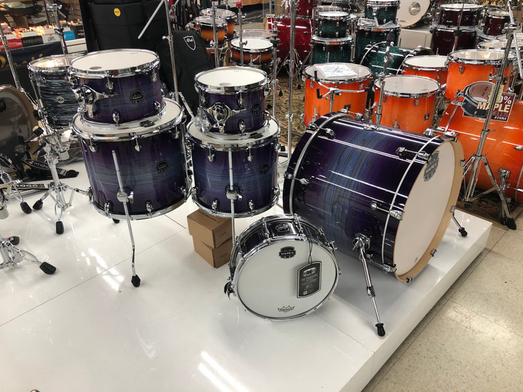 Mapex Armory Drum Set Studioease 6pc Shell Pack Fast Tom Night Sky Burst