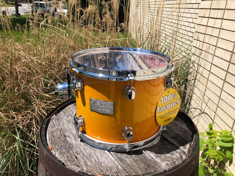RARE Mapex Saturn 12x9 Raclk Tom Drum Maple/Walnut Mango Burst NOS