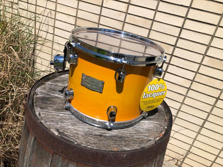 RARE Mapex Saturn 10x8 Rack Tom Drum Maple/Walnut Mango Burst NOS